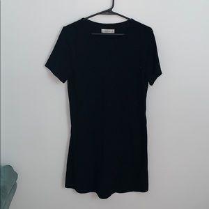 A&F Black T-shirt Dress